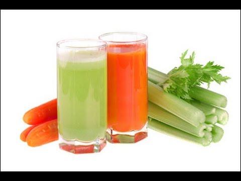 giảm cân bằng cần tây và cà rốt