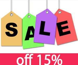 Khuyến mãi đến 15% khách đặt mua hàng online