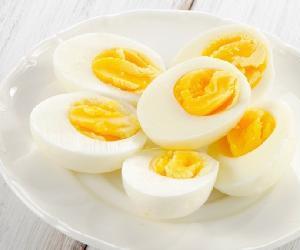 Thực đơn giúp giảm cân với Trứng tại nhà đơn giản