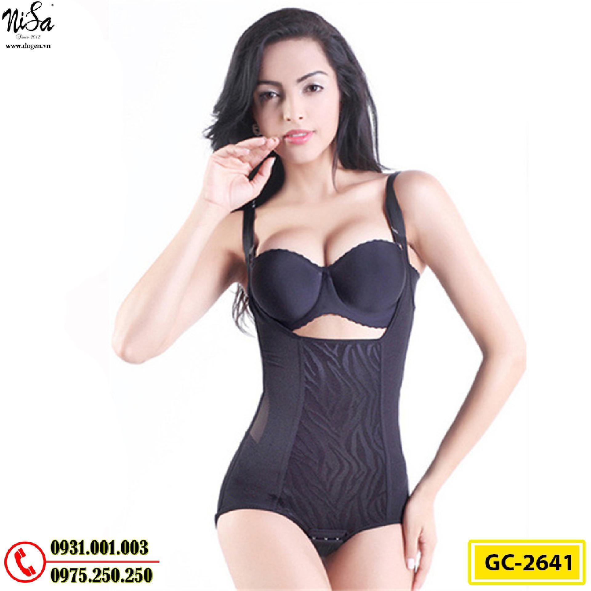 Bộ Đồ Lót Định Hình Bikini Cao Cấp Thu Gọn Vòng Eo (Cod: GC-2641)
