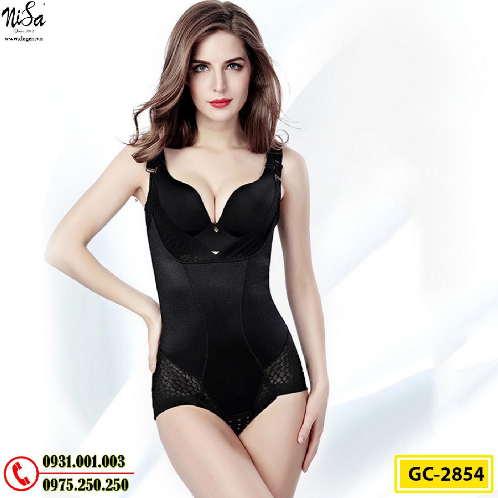 Bộ Đồ Lót Định Hình Bikini Liền Thân Thu Gọn Vòng Eo (Cod: GC-2854)