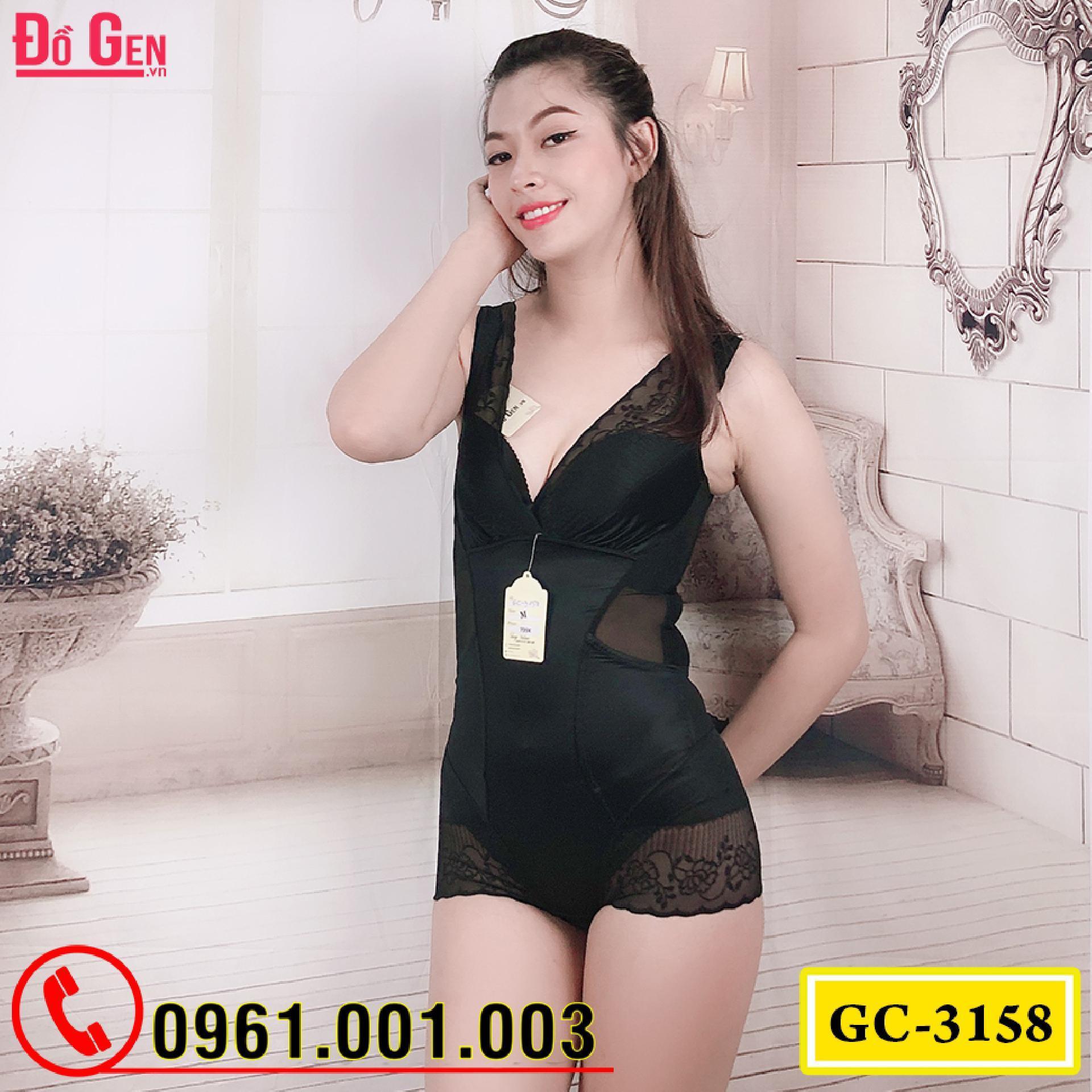 Đồ Lót Định Hình - Quần Áo Gen Định Hình Bikini Liền Thân Cao Cấp (Cod: GC-3158)