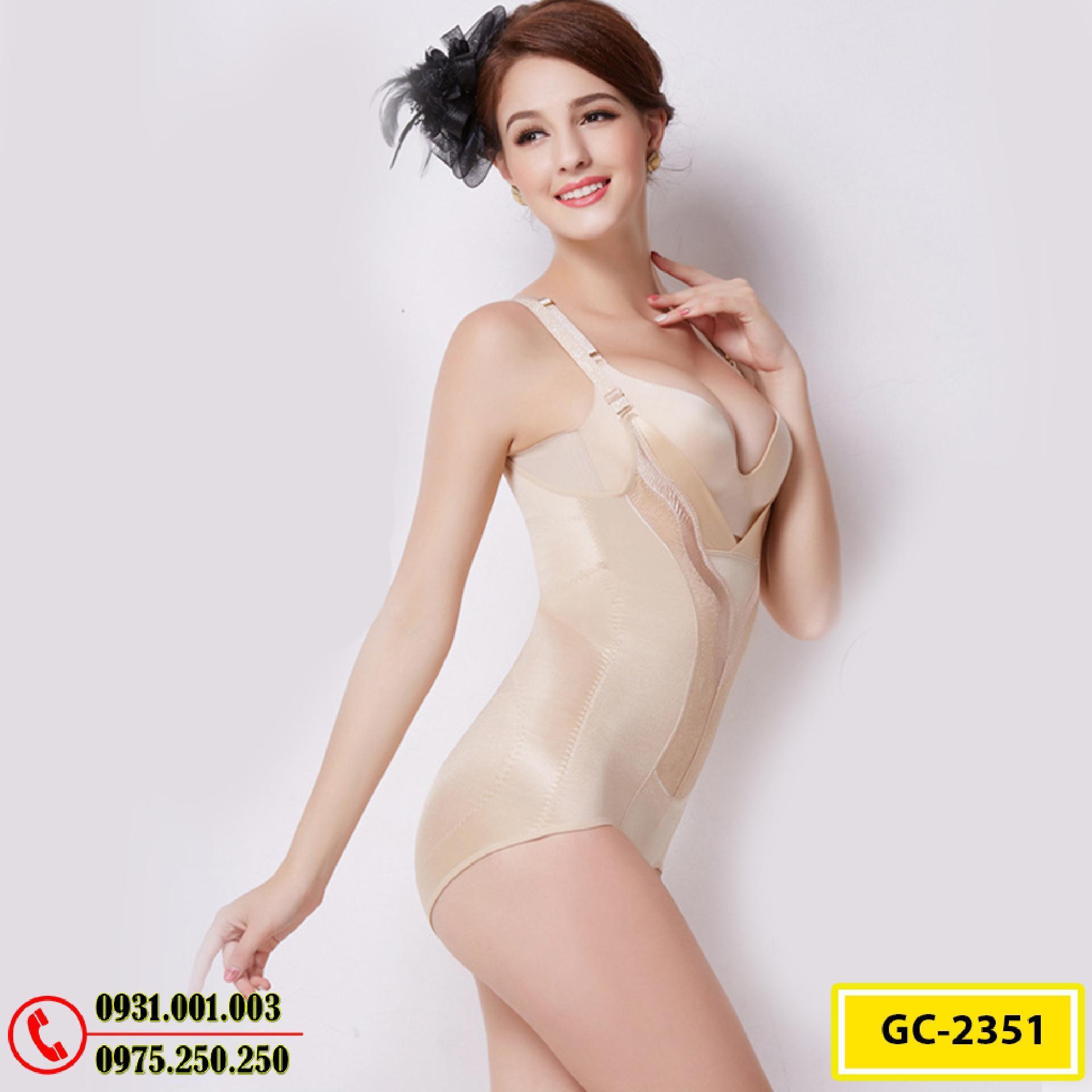 Đồ Lót Định Hình - Quần Áo Gen Định Hình Bikini Liền Thân Thu Gọn Vòng Eo (Cod: GC-2351)